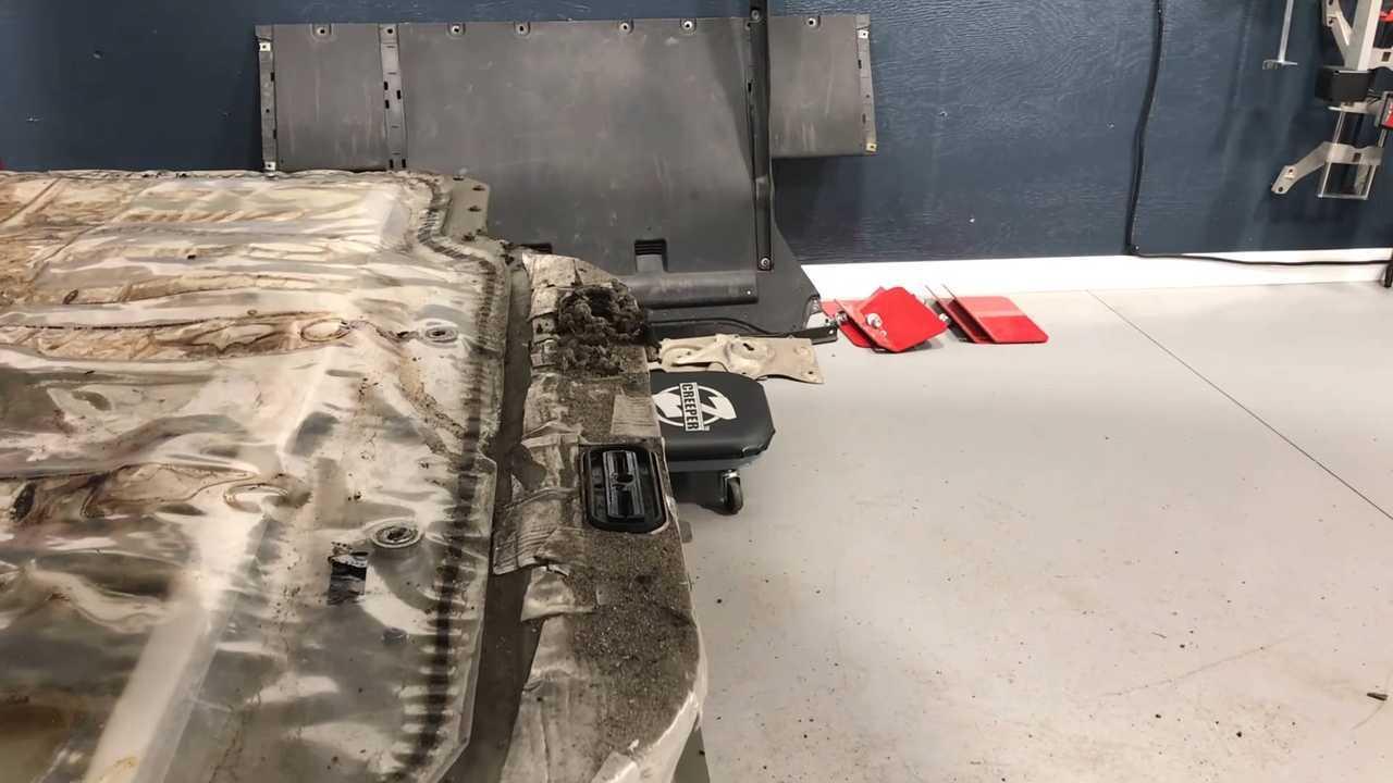 Koşum Yiyen Sıçanları Model S'i Yolda Durdurur