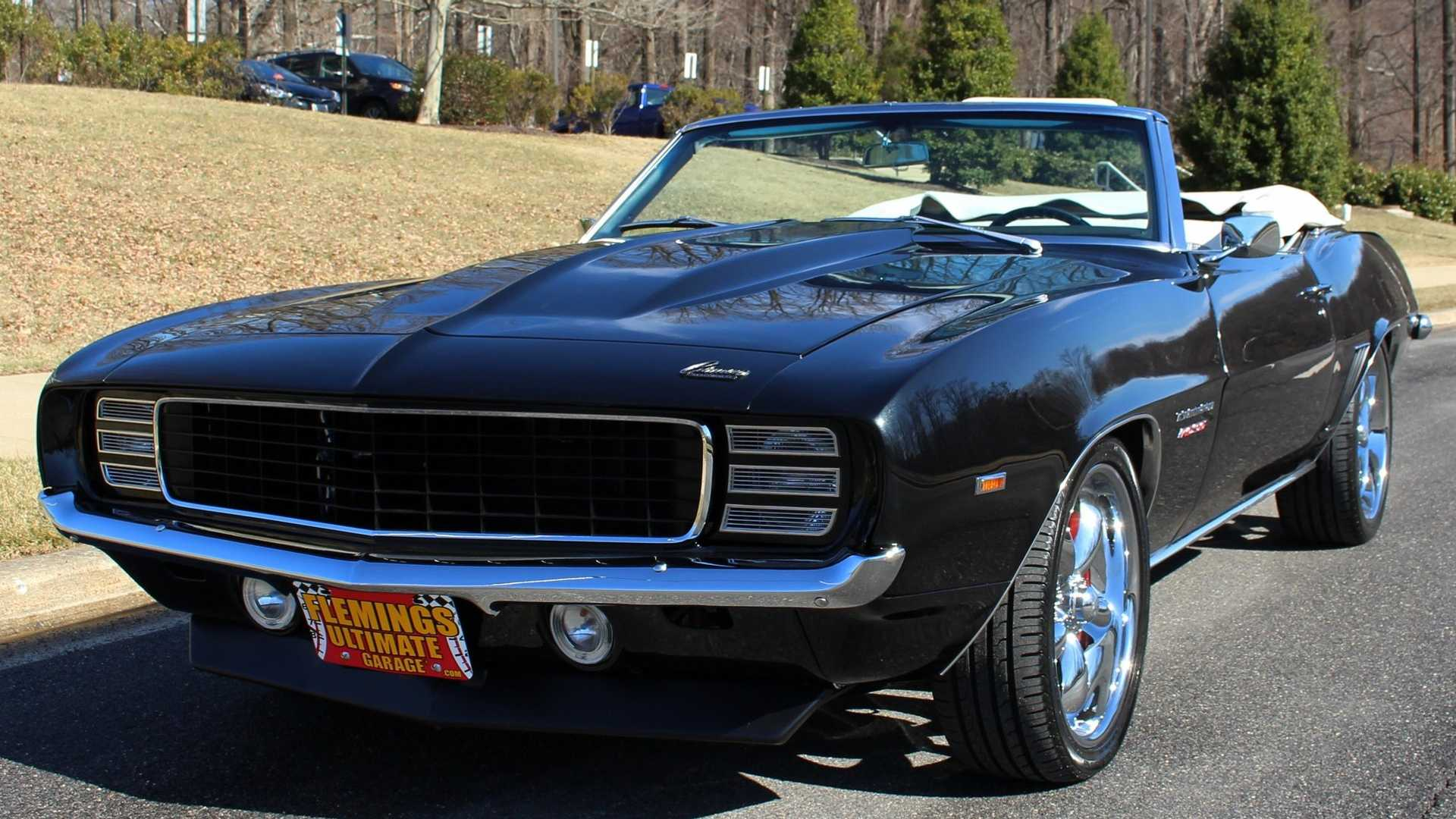 """[""""Pro-Touring 1969 Camaro RS/SS Ragtop For Sale Is A Bag Of Tricks""""]"""