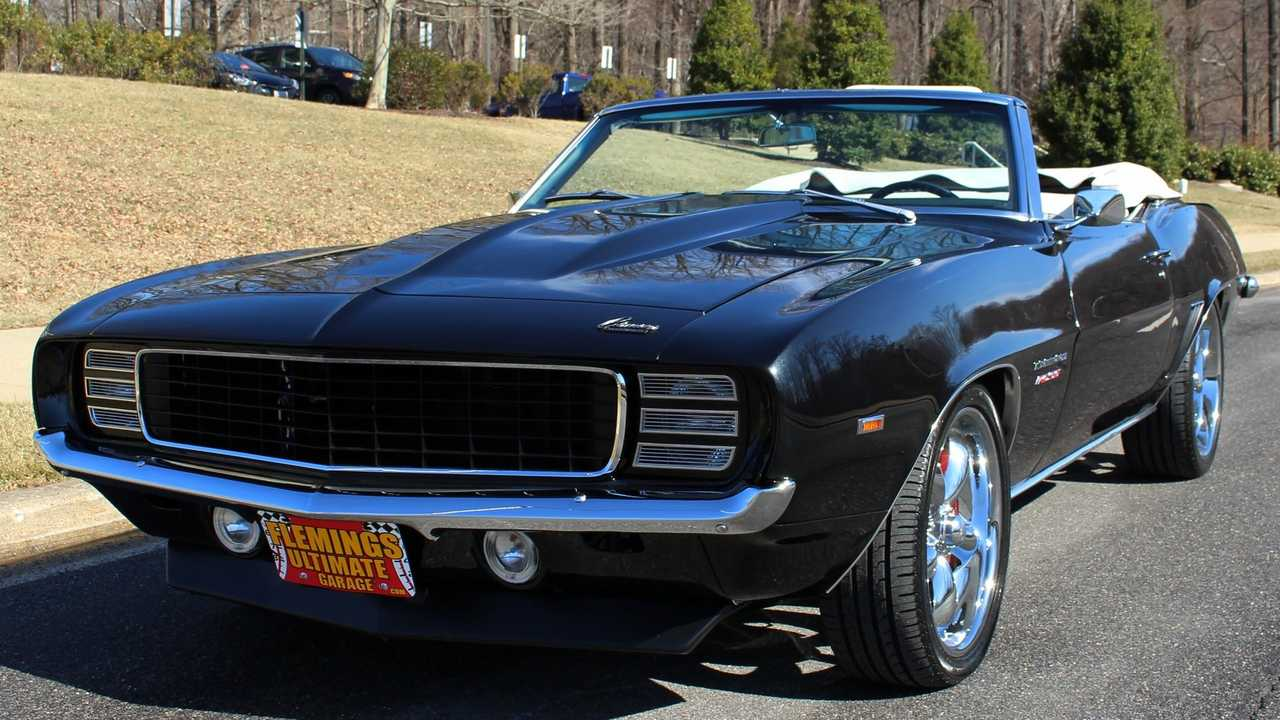 Pro-Touring 1969 Camaro RS/SS Ragtop For Sale Is A Bag Of Tricks