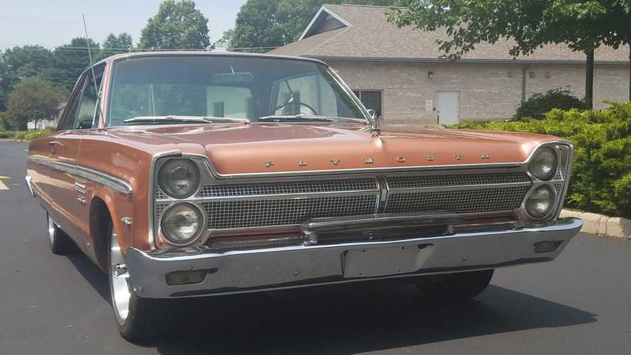 1965 Plymouth Sport Fury In Copper Metallic Is A Real Treasure