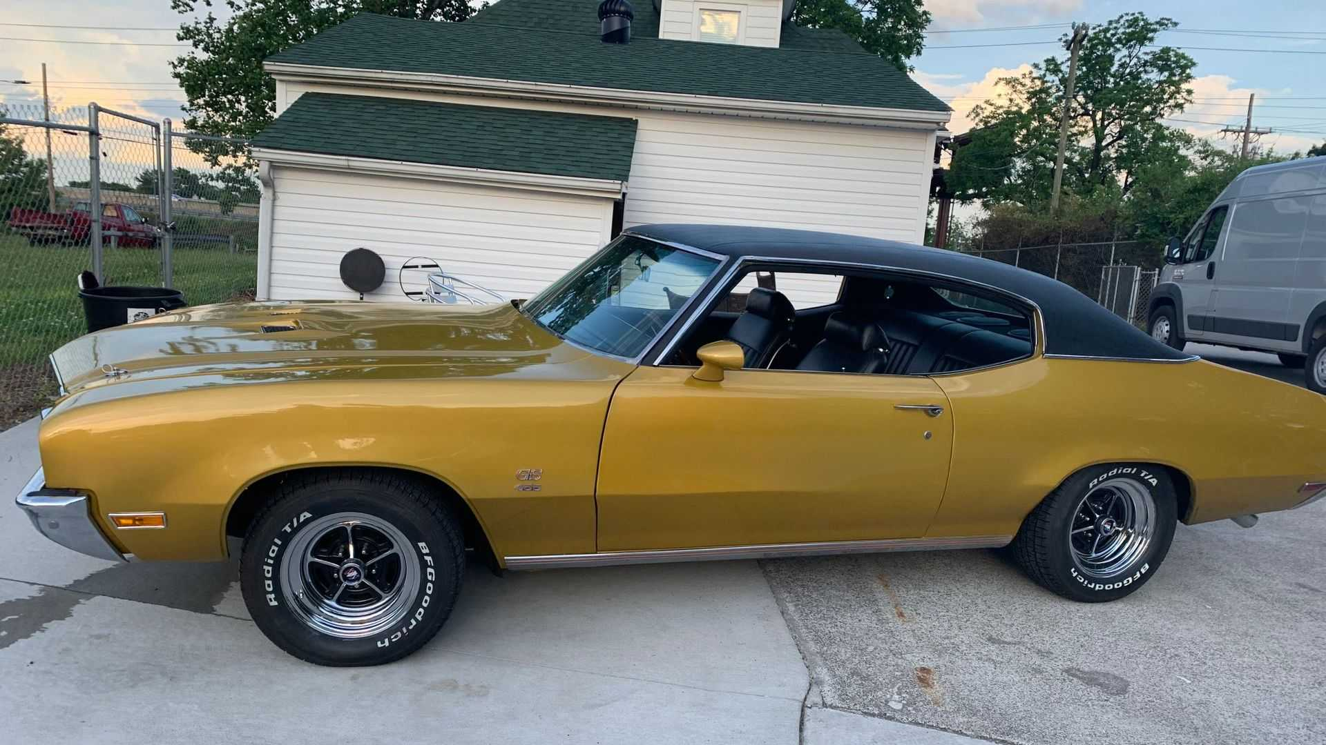 """[""""Rare 1971 Buick GS 455 To Be Auctioned Soon""""]"""