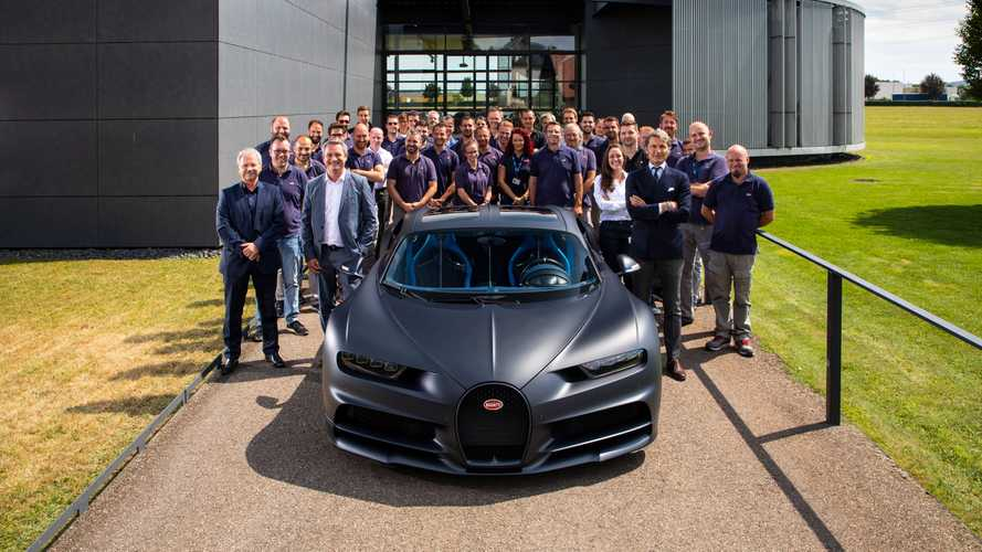 Bugatti celebrates 200th Chiron with behind-the-scenes photoshoot