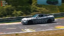 bmw 4 series convertible spied nurburgring