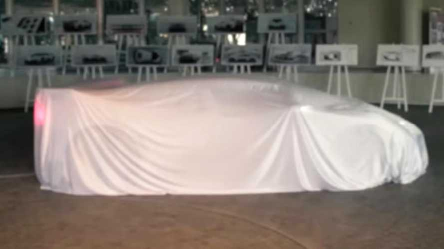Bugatti EB110 Spiritual Successor Possibly Teased Under Sheet