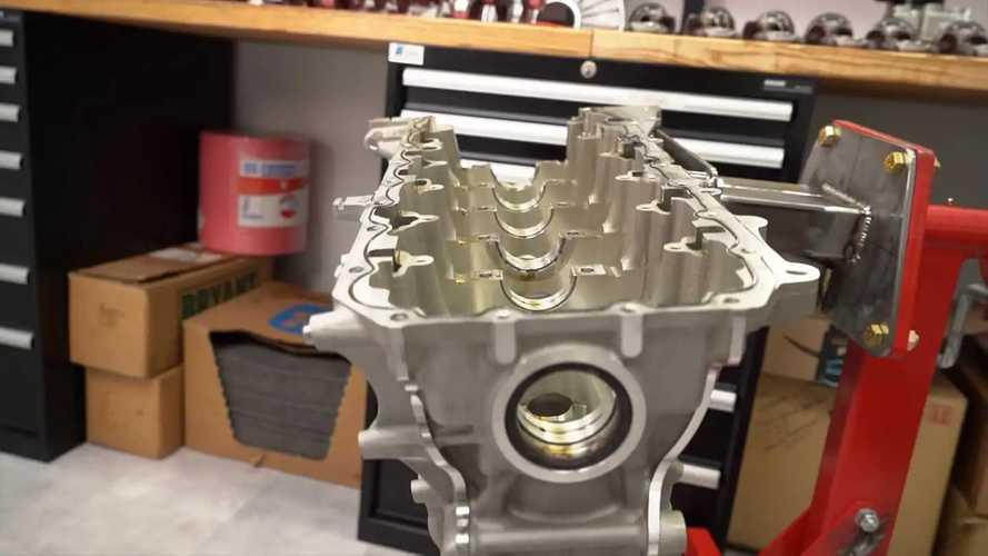Toyota Supra B58 engine teardown