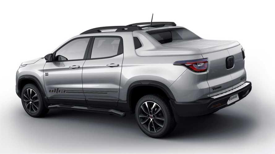 Fiat Toro Ultra com capota rígida na caçamba custará R$ 164.990