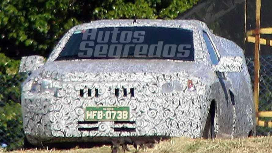 Flagra: Nova Fiat Strada não terá visual de Mobi