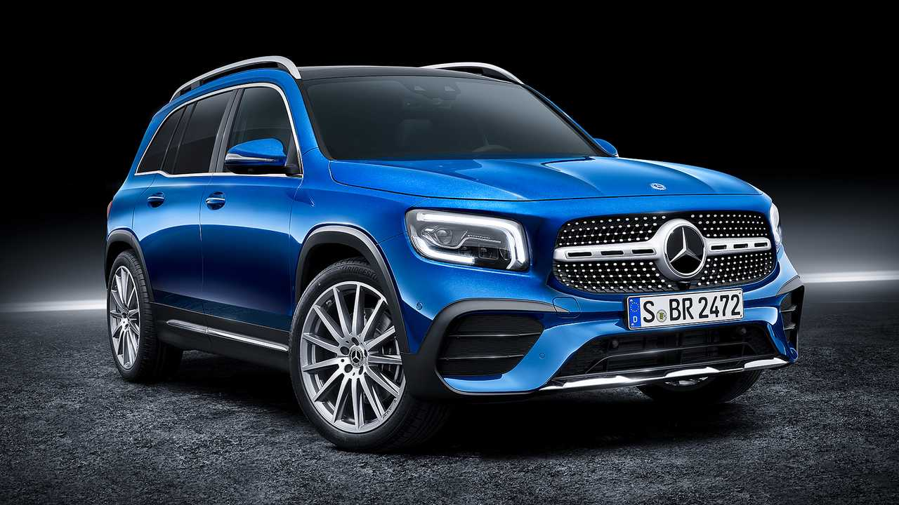 2020 Mercedes-Benz GLB-Class revealed as compact seven ...
