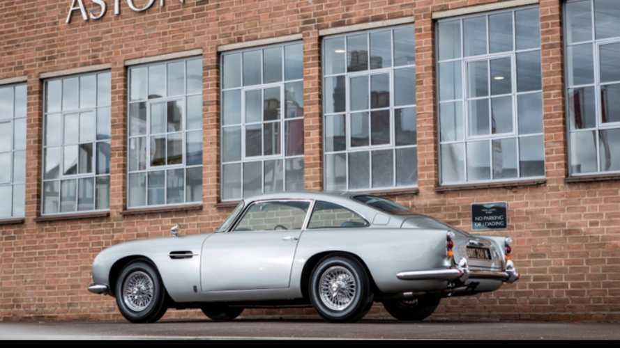 L'Aston Martin DB5 de James Bond vendue à plus de 6 millions de dollars