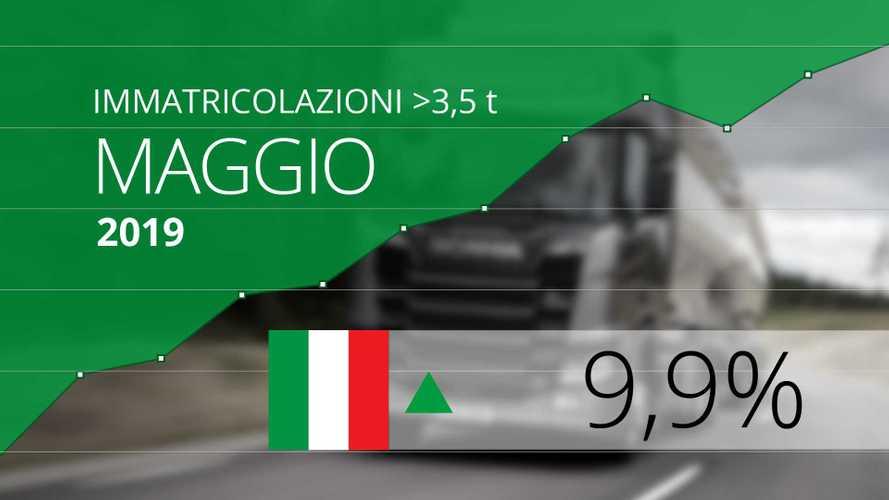 Mercato Camion a Maggio 2019 si sale