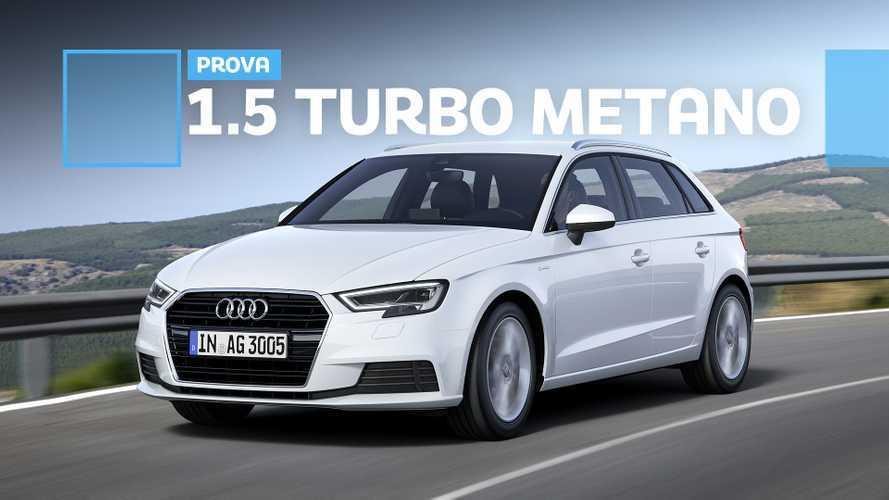 Audi A3 Sportback 1.5 g-tron, torna il metano e spinge bene