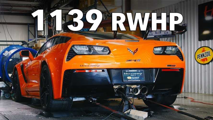 Watch Hennessey-Tuned ZR1 Do Furious Dyno Pulls