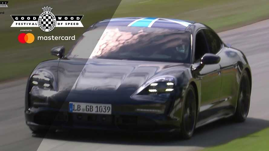 Porsche Taycan Prototype Impresses Us With Silence At Goodwood: Video