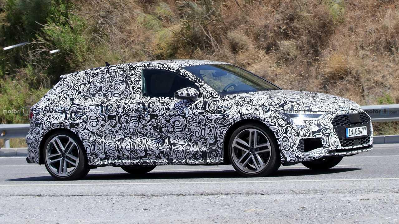 Photo d'espionnage de l'Audi S3 Sportback 2021