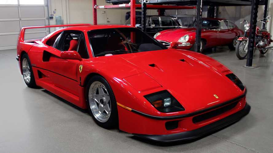 1990 Ferrari F40 Represents Exclusive Power