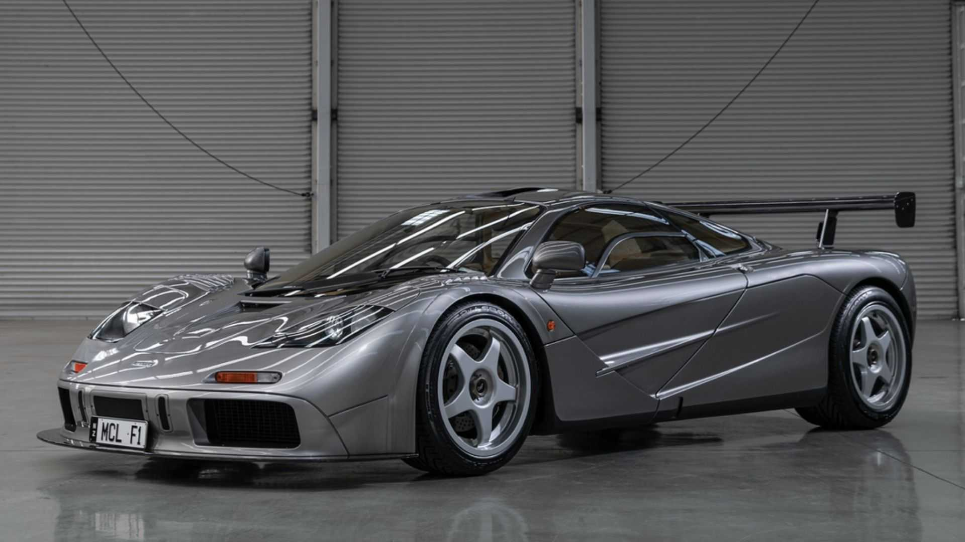 "[""1994 McLaren F1 LM-Spec Sets Auction Record""]"