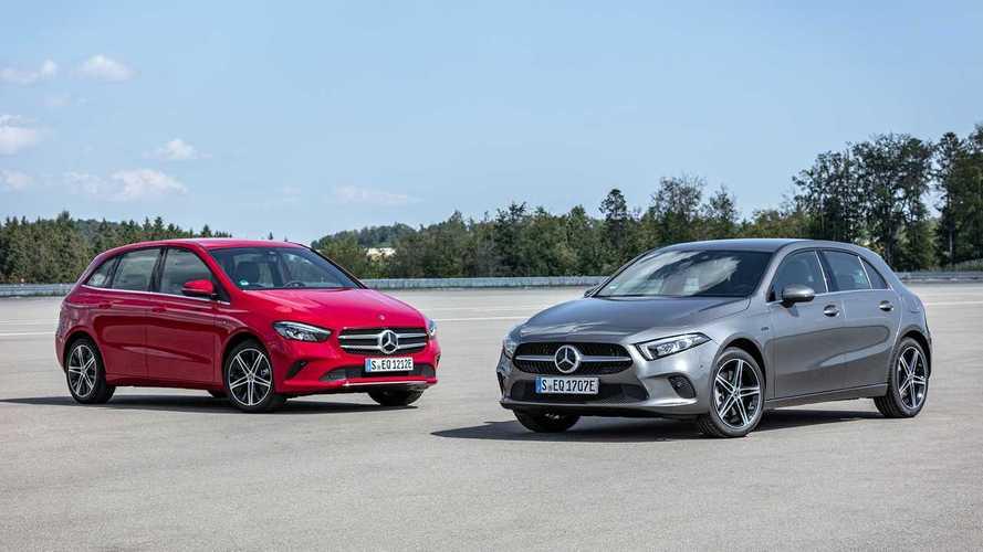 Jön a hibrid Mercedes A250e és a B250e