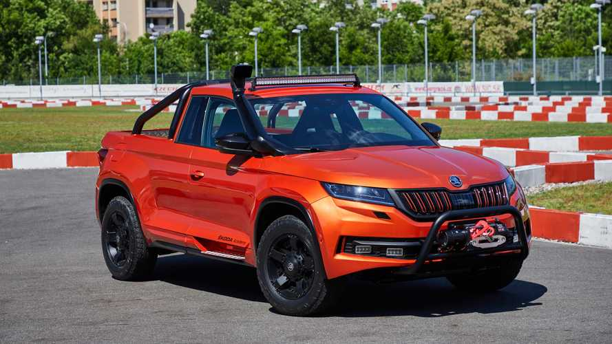 Škoda Mountiaq - Quand des apprentis transforment le Kodiaq en pick-up