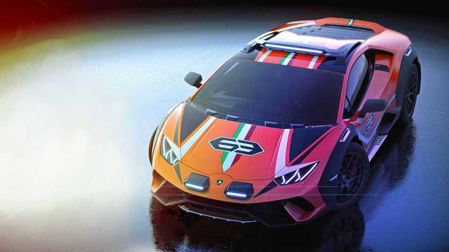 La Lamborghini Huracan Sterrato pourrait être commercialisée en 2021