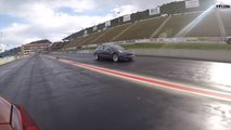 Tesla VS BMW Drag Race