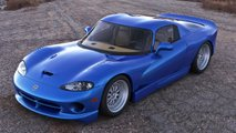 mid engine dodge viper rendered