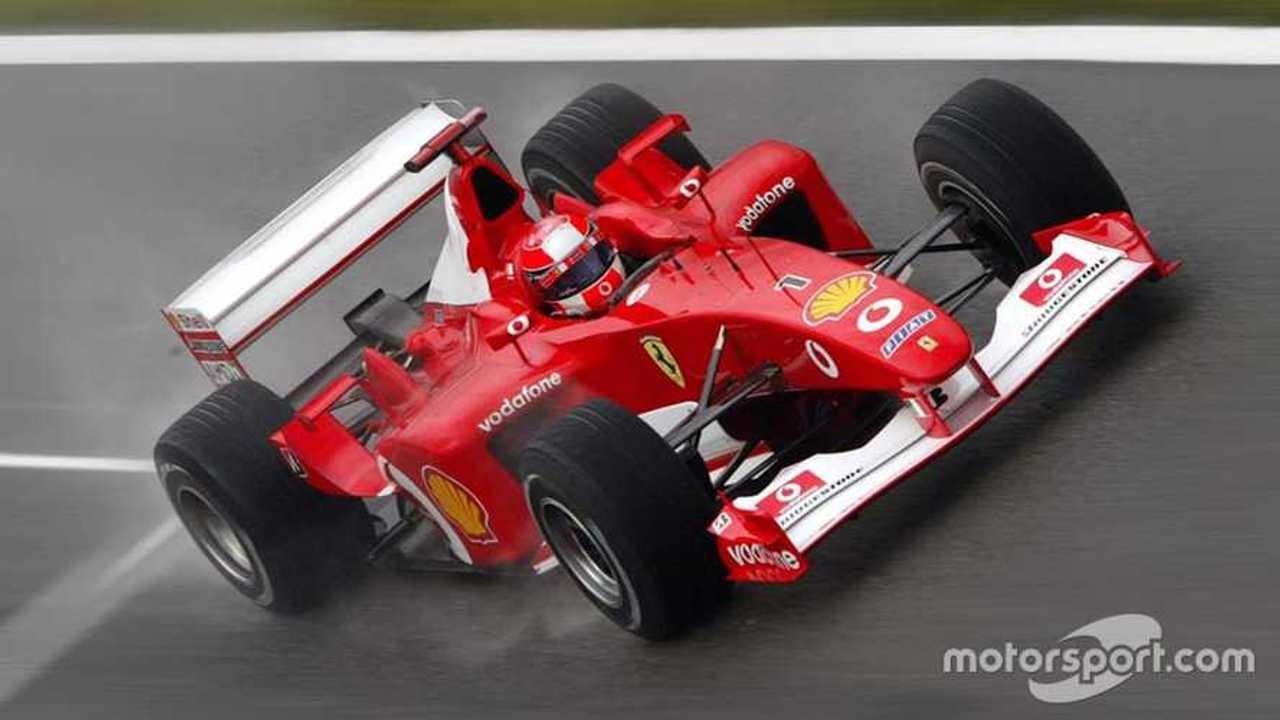 Michael Schumacher in Ferrari F2002 British GP 2002