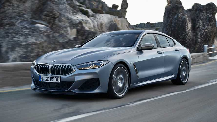 2020 BMW 8 Series Gran Coupe revealed with four-doors