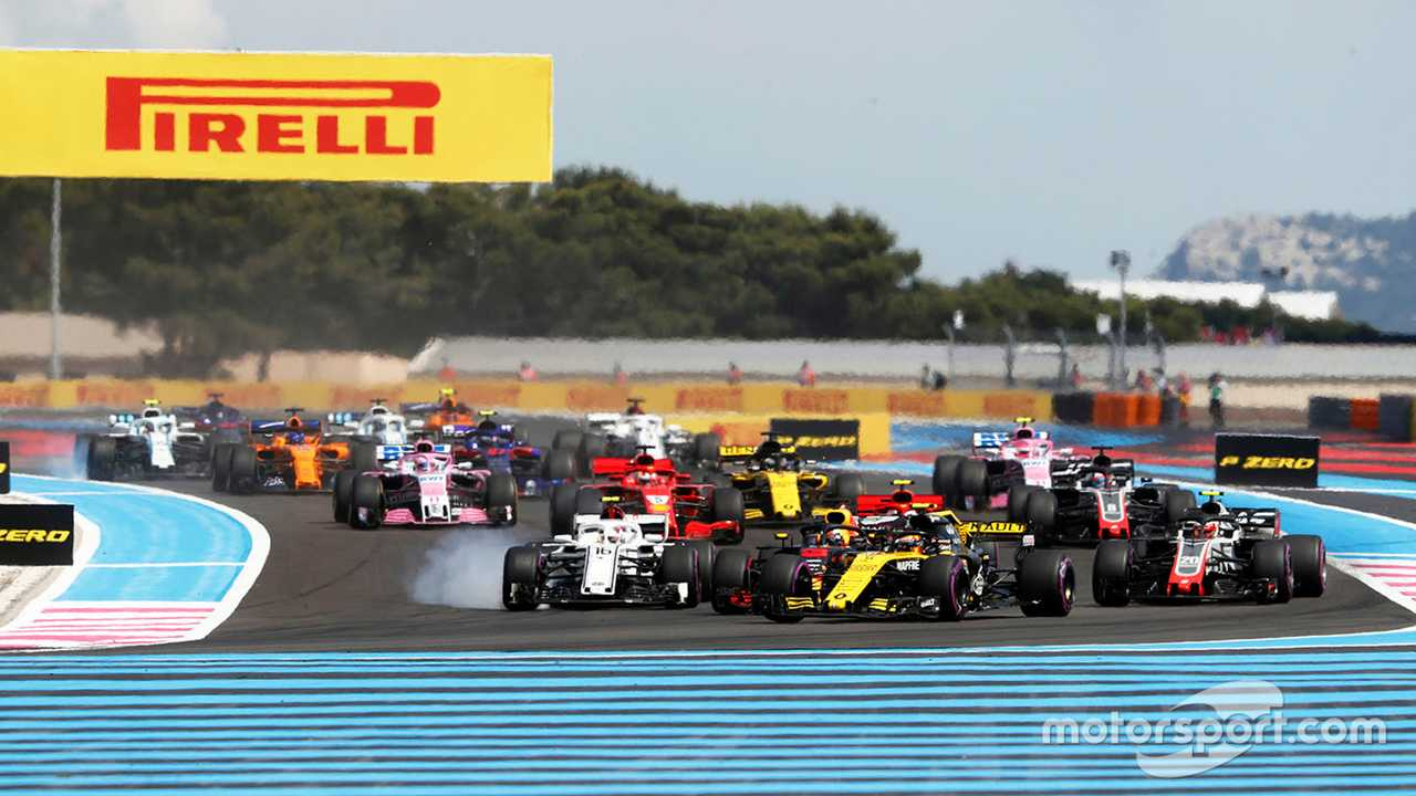 French GP 2018 race start