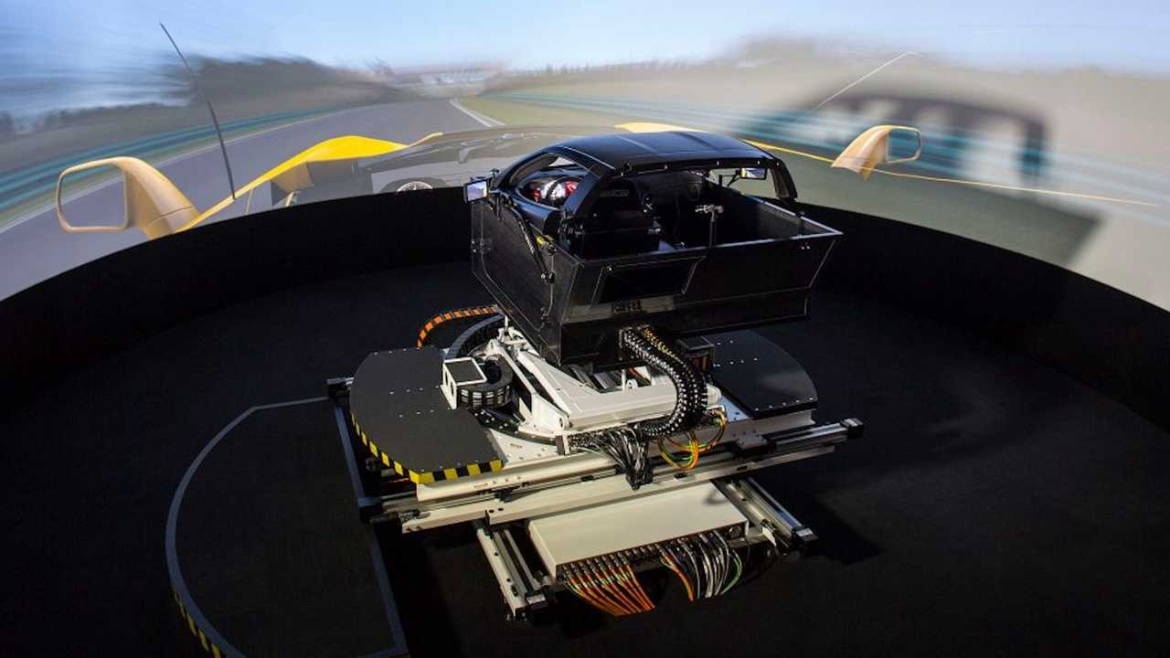 Corvette Simulator