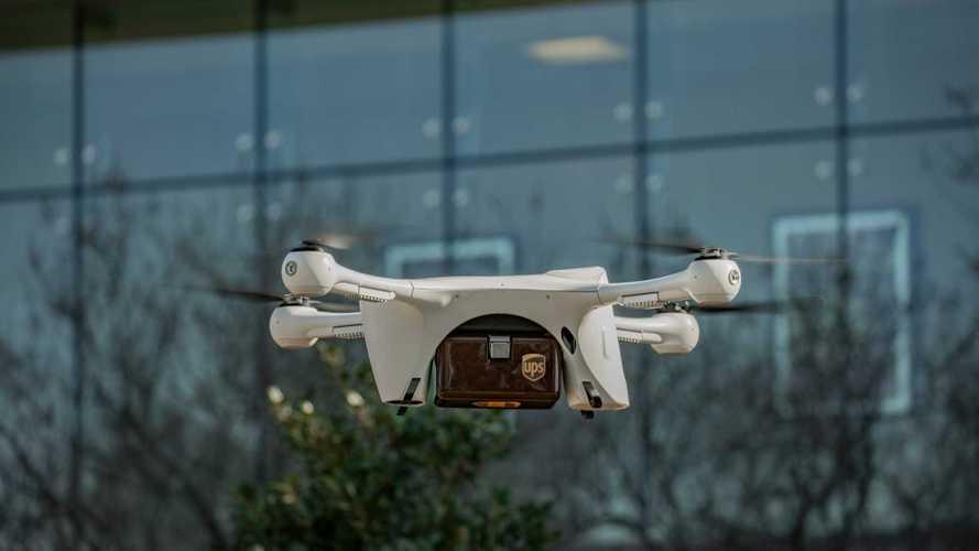 UPS s'impegna nelle consegne con i droni
