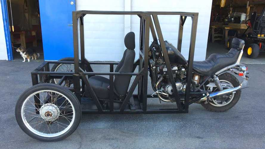 Craigslist's Custom Reverse-Trike: Marvel Or Horror?