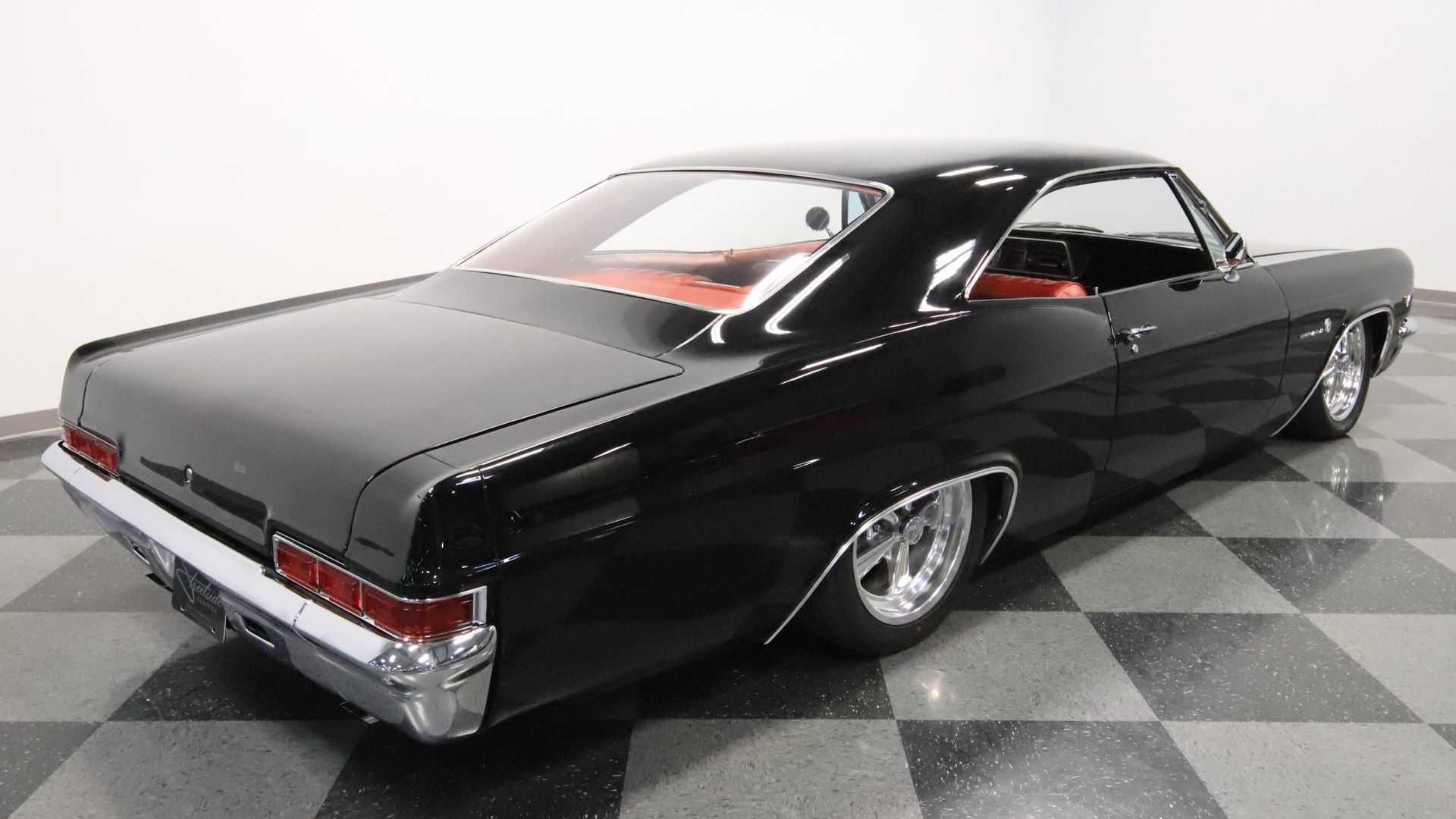 "[""Stun Everyone In A 1966 Chevrolet Impala Restomod""]"