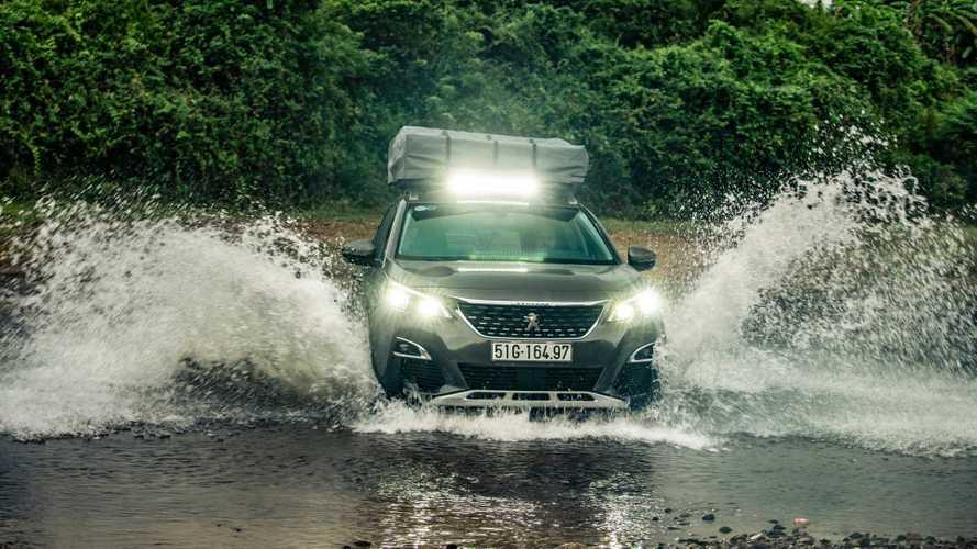 Peugeot 3008, la concept che ama il fuoristrada