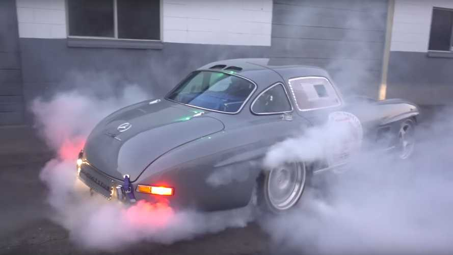 Monster Mercedes-Benz 300SL Gullwing Is A Custom Creation