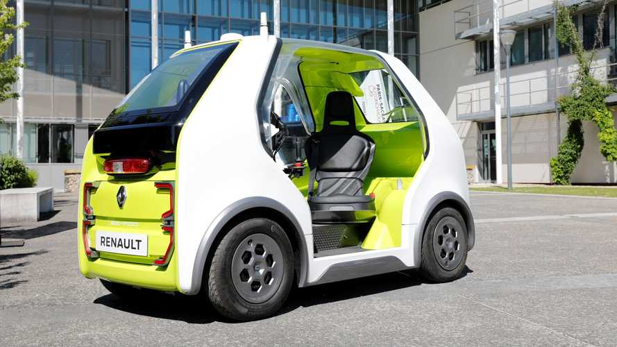 Renault EZ-POD for autonomous first and last mile