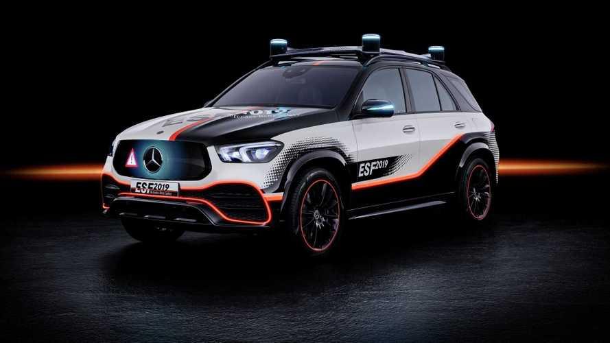 Así es el Mercedes-Benz ESF 2019 con conducción semiautónoma