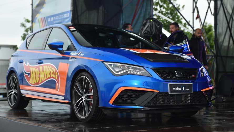 На фестивале Motor1 Days представлен уникальный Seat Leon Cupra