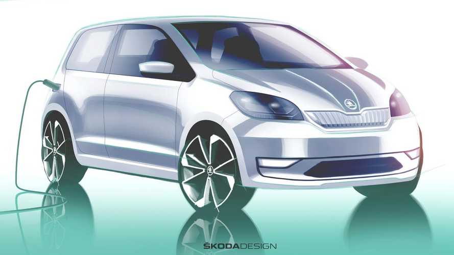2020 Skoda Citigo-e iV teased ahead of 23 May reveal