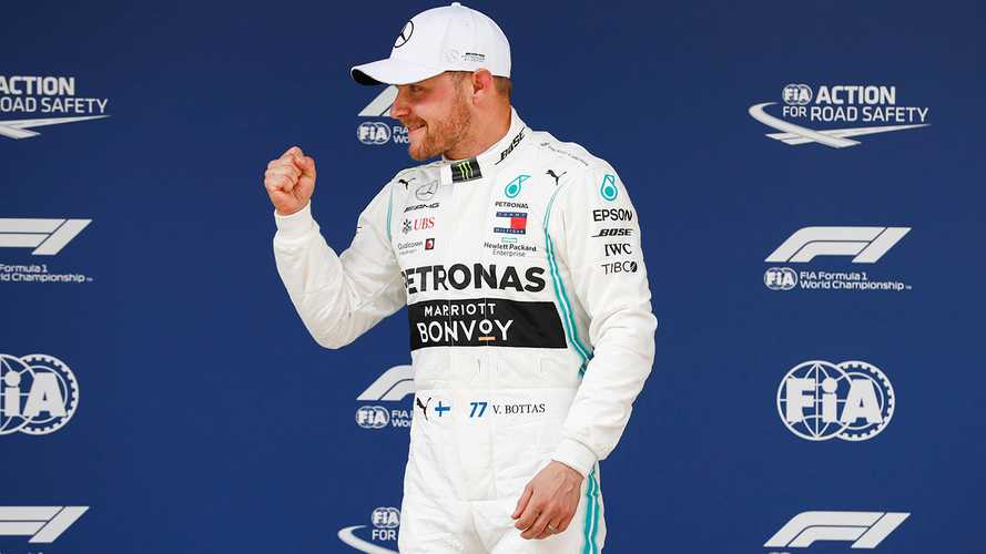 Chinese GP: Bottas beats Hamilton to pole by 0.023s