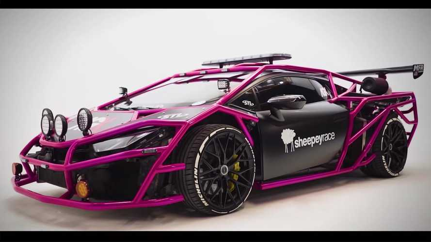 Twin-turbo Lamborghini Huracan rally car will upset purists