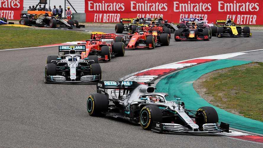 Chinese GP: Hamilton leads third consecutive Mercedes 1-2