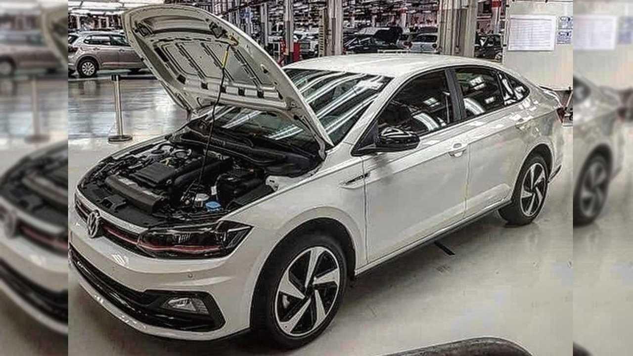 Volkswagen Virtus GTS - Imagem na fábrica