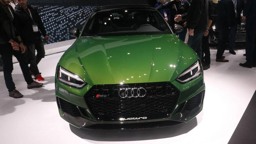 Audi RS5 Sportback Brings Its Sleek Profile, 444-HP Engine To NY