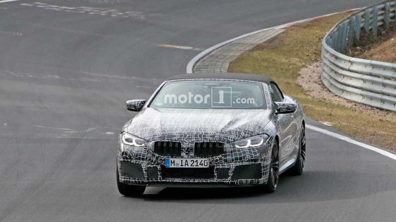 BMW M8 Cabrio Casus Fotoğrafları