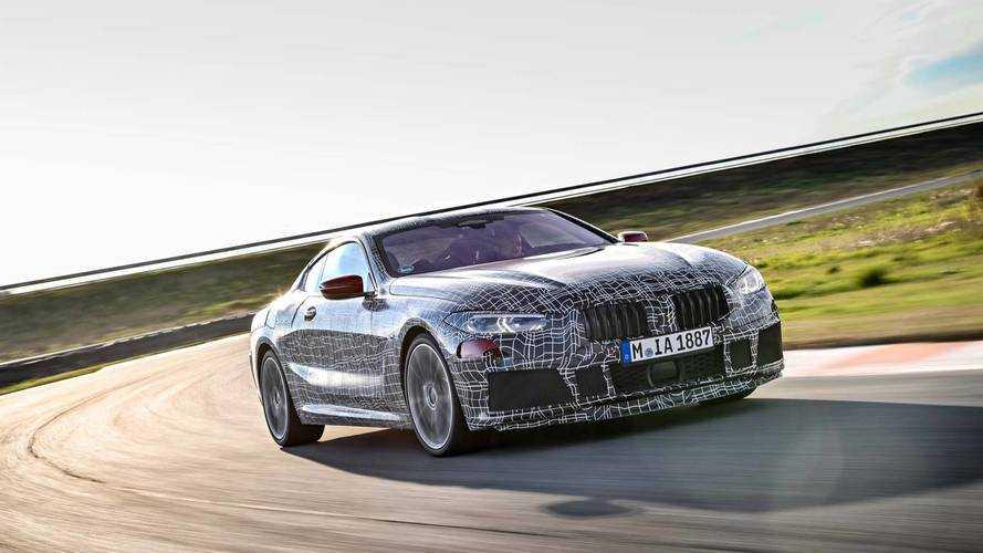 Olaszországban nyúzzák az új BMW 8-as Coupét