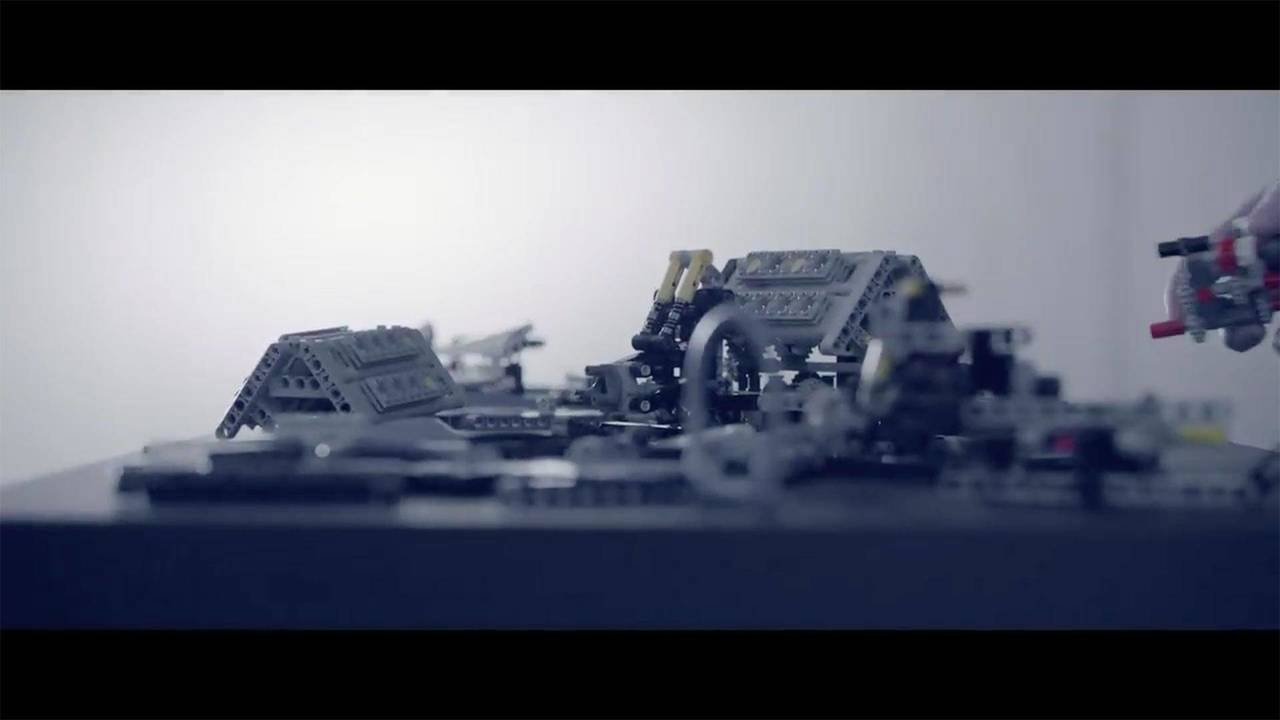 Bugatti Chiron Lego Technic Teaser