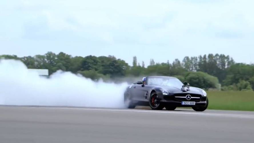 Mercedes Reveals Its Top 5 Best Stunts