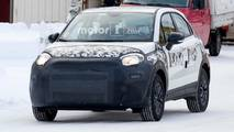 Fiat 500X Facelift Spy Photos