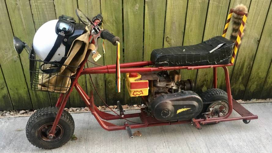 Auction Alert: Mini Bike From 'Dumb And Dumber' Now On eBay