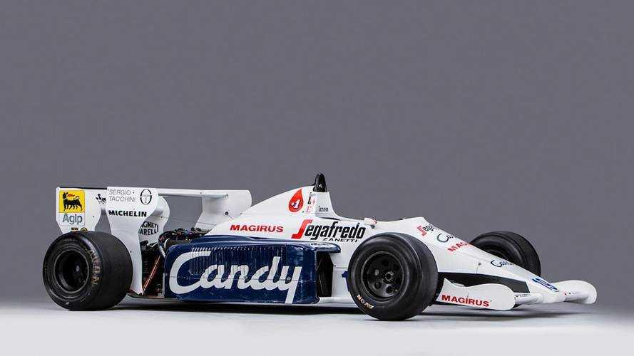 Sale a subasta el Toleman F1 de Ayrton Senna
